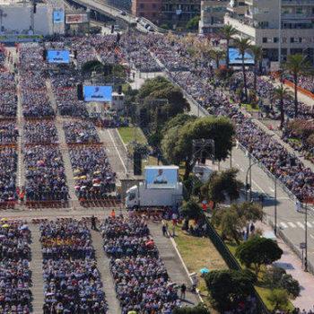 Il Papa a Genova nel 2017